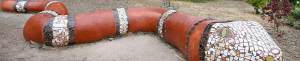 Chabot Garden Snake Bench