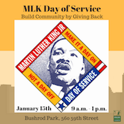 Build Community By Giving Back – MLK Day of Service