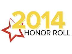 Chabot Selected for 2014 Honor Roll