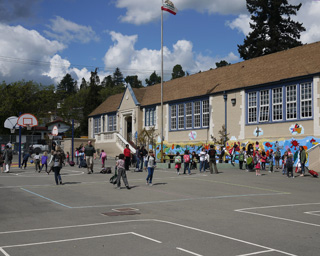 Chabot Elementary Lower Yard