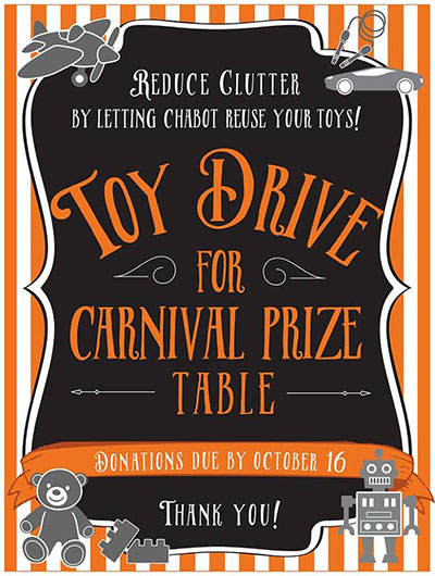 Fall Carnival Toy Drive