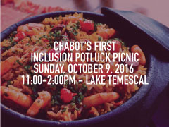 Chabot's First Inclusion Potluck Picnic