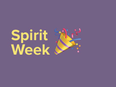 It's Spirit Week!