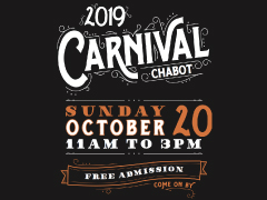 CHABOT CARNIVAL: This Sunday, Oct. 20, 11-3pm